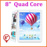 Metal Shell 8 inch Quad Core Tablet PC Actions ATM7029 Android 4.2 with WIFI Bluetooth HDMI free gits