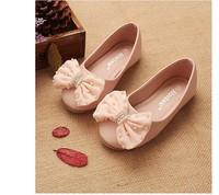 2014 New! Children Girls Shoes Korean Girls Microfiber PU Leather Shoes Baby Girls Flower Princess  kids Shoes D01-3