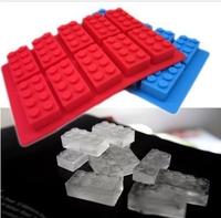 2x Silicone Lego Brick & Minifigure Man Robot Ice Trays Ice Mold Chocolate Molds Fondant YBG