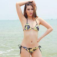 2014 NEW Swimwear Neoprene Bikinis for Women Lady's Sexy Bikinis Beach Swimwear