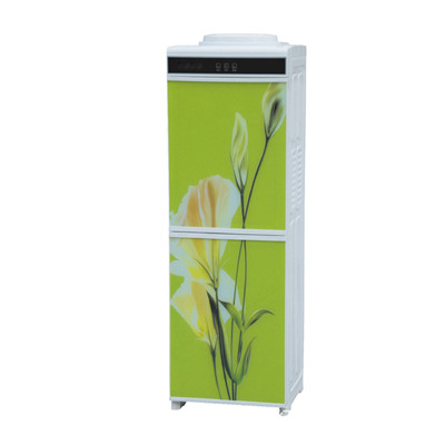 Water dispenser drink dispensers Vertical high quality hot and cold stand design green flower vestidos fashion style home tools(China (Mainland))