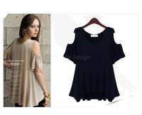 4XL,5XL,6XL Women Summer Knit Short-Sleeved Blouse Plus Size Blusas Femininas