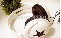 Mixed Style Star Headphone Fashionable Headphone High Quality Cheap Price