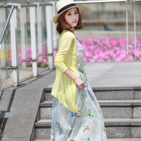2014 explosion models slub cotton candy-colored sun protection clothing