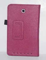 PU leather case cover protector for asus ME173 free stylus free shipping