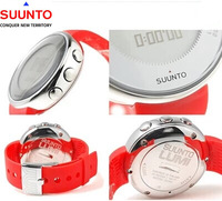 NEW 100% ORIGINAL  SUUNTO LUMI SPORTIF RED RUBBER STRAP BAND