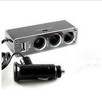 Car car cigarette lighter multi-purpose charger interface belt extension cable cigarette lighter plug