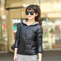 New Winter jacket Woman's Outerwear Slim Hooded Down Jacket Woman Winter Warm Down Coat Woman Light White Duck Down 90% Jacket