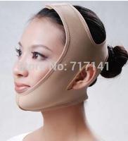 Retail 2014 Fast Shipping Hot Export Women Lady 3D Sleeping Thin Face Mask Lift Firming Powerful Beauty Belt  Tool