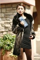 New 2014-2015 fashion women winter mink fur coat luxury women fur clothing size L XL XXL XXXL XXXXL perfect winter fur coat