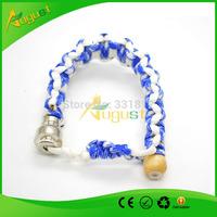 discreet stash bracelet pipe bead smoking pipe for sneak a toke discreet wooden rasta  screen dry herb