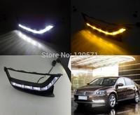 Unimaginable Price For VW/Volkswagen Passat B6 2011-2013 LED DRL,LED Daytime Running Light,Free Shipping!