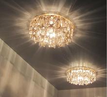 lustres de sala 3W modern crystal lamp home chandeliers AC85-265V spotlight living room led light diameter 14CM luminaria(China (Mainland))