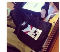 Free Shipping 2014 Casual Shopping Bags fashion little monsters Women Handbags Shoulder Bags