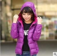2014 new women's fashion Winter parkas casacos femininos Hooded down Jackets Outdoor Waterproof Keep Warm Lady Outerwear Coat