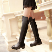 woman fashion Boots winter  brief high-leg boots elastic knee-length sexy