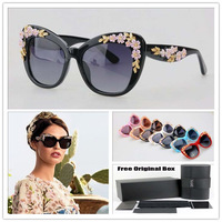 points brand glasses Baroque flower sunglasses women famous brand sunglasses Points for women Italy Acetate sunglasses lenses