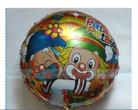 "wholesale 18'' round ""Patata"" Clown Foil Wedding Balloons for party decoration aluminium helium balloon free shipping"