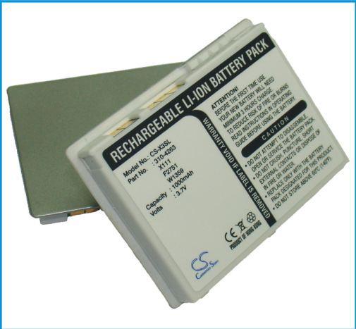 2000mAh PDA Battery For DELL Axim X3,X30 X3i (P/N For DELL X1111 ) Free Shipping Dropshipping(China (Mainland))