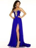 Sexy Beading Prom Dresses Sweetheart Sequin Beads Floor-Length Appliques Front Split A-Line 2014 vestidos de fiesta