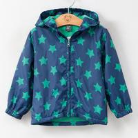 2015 autumn Korean version Star Hoodie  Children plus velvet jacket zipper  Baby spring jackets  baby boys and girls Coat