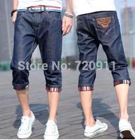summer Denim shorts men korean Tides Cowboy  Seven socks shorts 899 free shipping