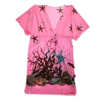 Colloyes 2014 New Sexy Rose Beach Dress in Low Price  Free shippinhg