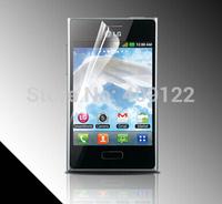 Fedex 1000pcs Clear film guard Screen protector for LG Optimus L3 E400.