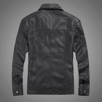 2014 NEW THOOO TM09017 HOT GENTLEMEN'S pu leather classic Motorcycle jacket Coat