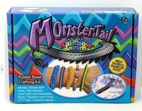 Monster tail Mini Loom Bracelet Rubber Loom Bands Crafting Kit Monster Tail Loom Kit Bands for Kids