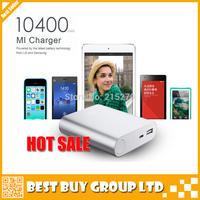 External Battery Pack Original xiaomi Power Bank 10400mAh XiaoMi Portable Powerbank Charger For xiaomi hongmi M1 M2 iphone HTC