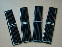Free shipping .80*17 crystal silicon monocrystalline solar flashlight board Epoxy solar panel 4V40MA.monocrystalline solar cells