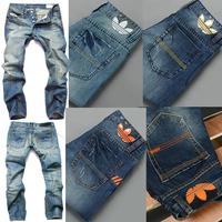 fashion brand denim jeans  disel brand fashion designer men jeans denim pants trousers 4 colors trousers on sale