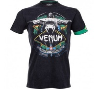 "VENUM ""RIO SPIRIT"" T-SHIRT - BLACK Fight without fear and without reproach under the watchful eye of Christ the Redeemer!"