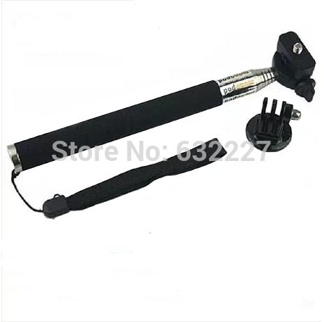 Wholesale Gopro camera accessories handheld self- stick hero3 + / 3/2 Self- shelf digital camera bracket(China (Mainland))