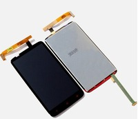 Original New Full LCD Display + Touch Screen Digitizer Lens Assembly with LOGO for HTC One X+ PLUS S728e PM63100/ Black