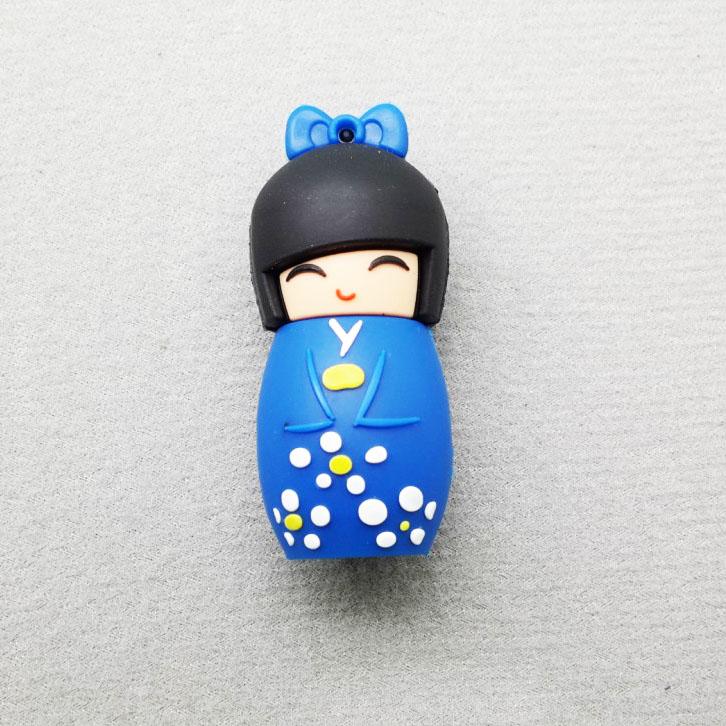Free shipping Hot-selling wholesale Japanese dolly 2-32GB USB 2.0 Flash Memory Stick Pen Drive U Disk RU269(China (Mainland))