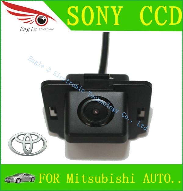 SONY CCD Sensor Car Rear View Reverse Backup Parking CAMERA for Mitsubishi Outlander NTSC / PAL(China (Mainland))