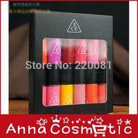 120pcs /lot DHL free shipping makeup lip gloss 3ce liquid lipstick packing carton lip gloss set paint lips free shipping