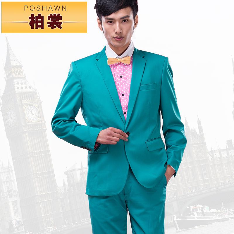 Mens Green Suit Jacket Jacket Pants Suits Men