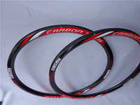 100% Carbon Bike Wheels & Rims MTB Wheel Mountain Bike Wheel Red