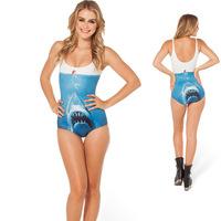 Hot Sale New Arrival Painting One Pieces Woman Swimwears Black Milk swimwear YY023