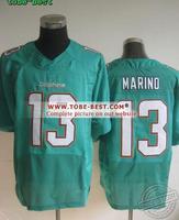 #13 Dan Marino Jerseys Green,American Football Jersey,Game Limited Jersey,Size M-XXXL,Factory Price,Best Quality