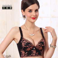 5 breasted thin bra push up adjustable beauty care bra body shaping underwear thin cup