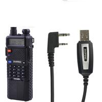 fm radio transmitter pofung  uv-5r,UHF/VHF with 3800mAh Li-ion battery built-in+baofeng radio original programming cable