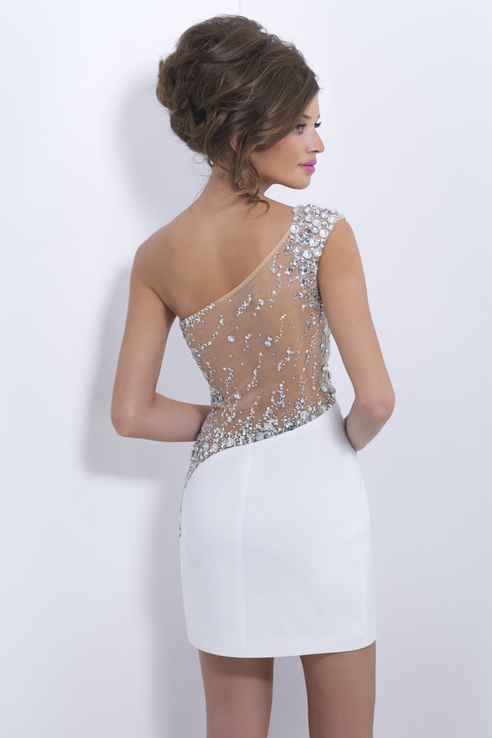 Short Tight White Prom Dresses Short prom gowns 2014 new