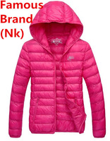 Nk Brand Winter Warm Down Coat Women Fashion Lady Thick Parkas Autumn Plus Size Sportswear Outerdoor Hoodie Suit Casual Jacket