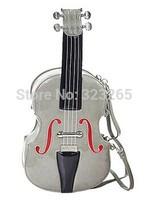 free shipping special guitar styling bags,Shoulder diagonal handbags,Creative Design,Violin bag