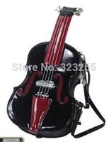 free shipping Exclusive design, famous brand handbags,Fashion guitar violin handbags,Diagonal portable shoulde