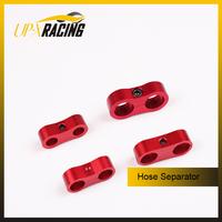 Billet aluminum line separator AN4 hose separator intercooler braided hose separator ID:11.1MM